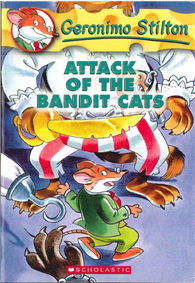Geronimo Stilton 08: Attack of the Bandit Cats