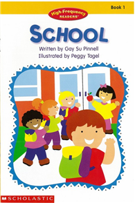 High-Frequency Readers Book 01: School