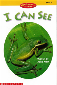 High-Frequency Readers Book 05: I Can See