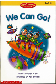 High-Frequency Readers Book (10): We Can Go!