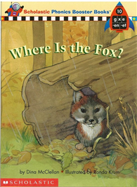 Phonics Booster Books 10: Where Is the Fox?