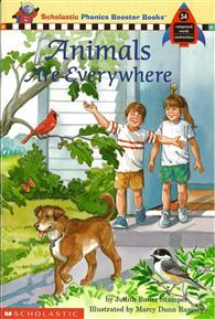 Phonics Booster Books 34: Animals are Everywhere