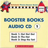 Phonics Booster Books Audio CD 01 ^(Book 01~0