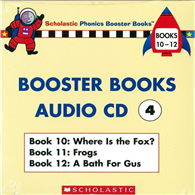 Phonics Booster Books Audio CD 04 ^(Book 10~1