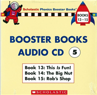 Phonics Booster Books Audio CD 05 (Book 13-15)