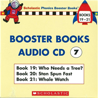 Phonics Booster Books Audio CD 07 ^(Book 19~2