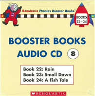 Phonics Booster Books Audio CD 08 (Book 22-24)