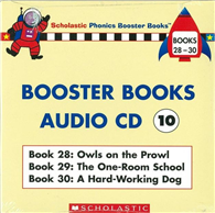 Phonics Booster Books Audio CD 10 (Book 28-30)