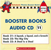Phonics Booster Books Audio CD 11 ^(Book 31~3
