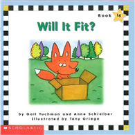 Phonics Readers Book 16: Will it Fit?