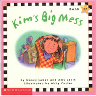 Phonics Readers Book 27: Kim's Big Mess