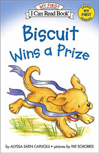AN+I+CAN+READ+BOOK+MY+FIRST+READING:BISCUIT+WINS+A+PRIZE