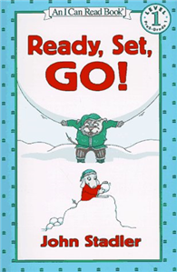 An I Can Read Book Level 1: Ready, Set, Go!