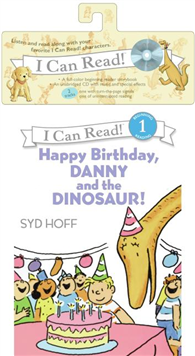 An I Can Read Book Level 1: Happy Birthday, Danny and the Dinosaur! (Book & CD )