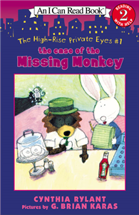 An I Can Read Book Level 2: The High-Rise Private Eyes #1: The Case of the Missing Monkey