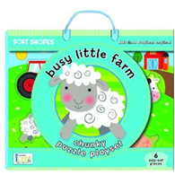 Soft Shapes Chunky Puzzle Playset:Busy Little Farm (Foam Puzzle and Playset)