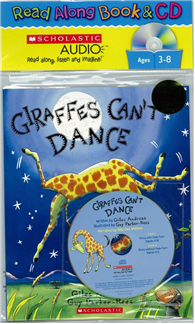 Giraffes Can't Dance (Book + Audio CD)