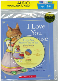 I Love You Because You're You(with CD)