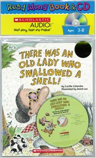 There Was An Old Lady Who Swallowed A Shell (Book + Audio CD)
