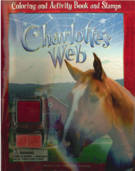 Charlotte's Web: Coloring and Activity Book and Stamps