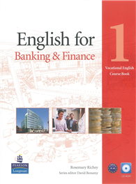 English for Banking & Finance Level 1 Coursebook (with CD-ROM)