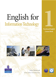 English for Information Technology Level 1 Course book with CD-ROM