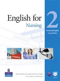 English for Nursing Level 2 Course book with CD-ROM