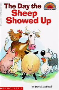Scholastic Reader Level 2:Day the Sheep Showed Up