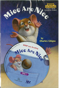 Step into Reading(Book + CD)Step 1 Preschool Grade 1: Mice Are Nice