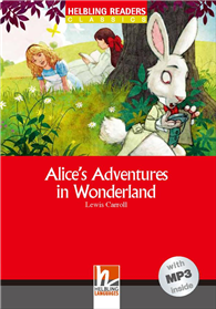 Helbling Readers Red Series Level 2: Alice's Adventures in Wonderland (with MP3)