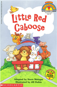 My First Hello Reader: Little Red Caboose