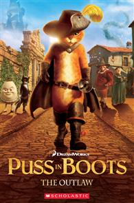 Scholastic Popcorn Readers Level 2: Puss in Boots: The Outlaw with CD