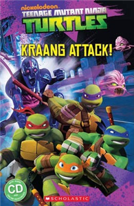Scholastic Popcorn Readers Level 2: Teenage Mutant Ninja Turtles: Kraang Attack! with CD