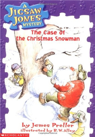 Jigsaw Jones #02: The Case of the Christmas Snowman (書+CD)