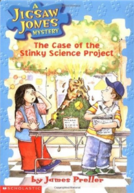 Jigsaw Jones #09: The Case of the Stinky Science Project (書+CD)