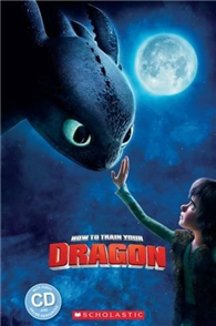 Scholastic Popcorn Readers Level 1: How to Train Your Dragon with CD