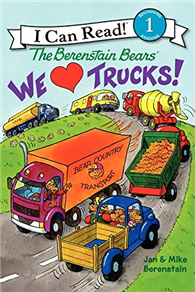 An I Can Read Book Level 1: Berenstain Bears We Love Trucks!