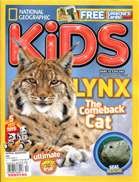 NATIONAL GEOGRAPHIC KIDS 12-1月號/2013-2014:Lynx The Comeback Cat