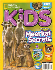 NATIONAL GEOGRAPHIC KIDS 5月號/2014:Meerkat Secrets