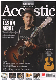 Guitarist Presents Acoustic 秋季號/2014:Jason Mraz