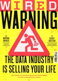WIRED 英國版 11月號/2014:The Data Industry is selling your Life
