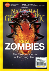 NATIONAL GEOGRAPHIC 11月號/2014:Real Zombies