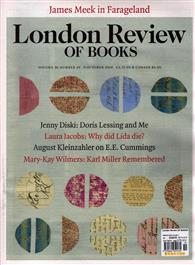 London Review OF BOOKS 1009/2014 第19期