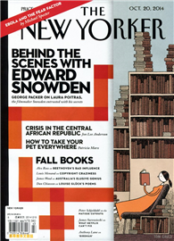 THE NEW YORKER 1020/2014:Behind the Scenes with Edward Snowden