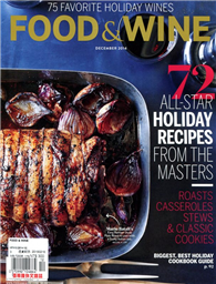FOOD & WINE 12月號/2014:72 All-Star Holiday Recipes