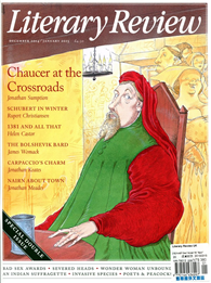 Literary Review 英國版 12-01月特別號/2014-15 第427期:Chaucer at the Crossroads