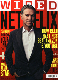 WIRED 英國版 2月號/2015:How Reed Hasings Beat Amazon & Youtube