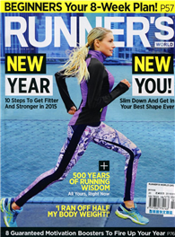RUNNER'S WORLD 英國版 2月號/2015:New Year New You!