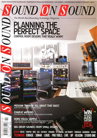 SOUND ON SOUND 2月號/2015:Planning the Perfect Space