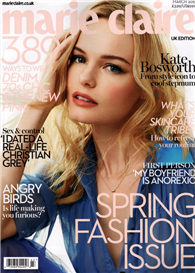 marie claire 英國版 3月號/2015 第319期:Spring Fashion Issue